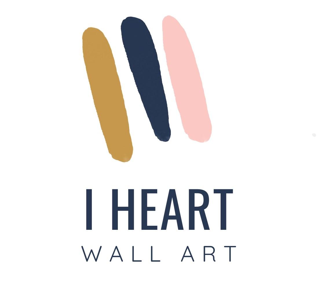 I Heart Wall Art
