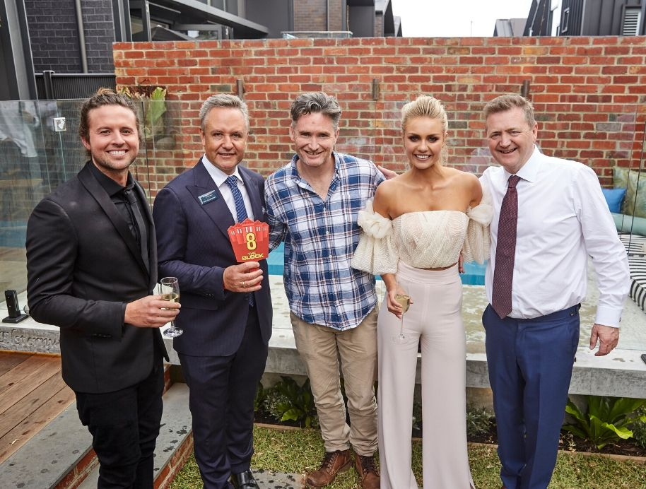 Dave Hughes with Josh and Elyse Knowles