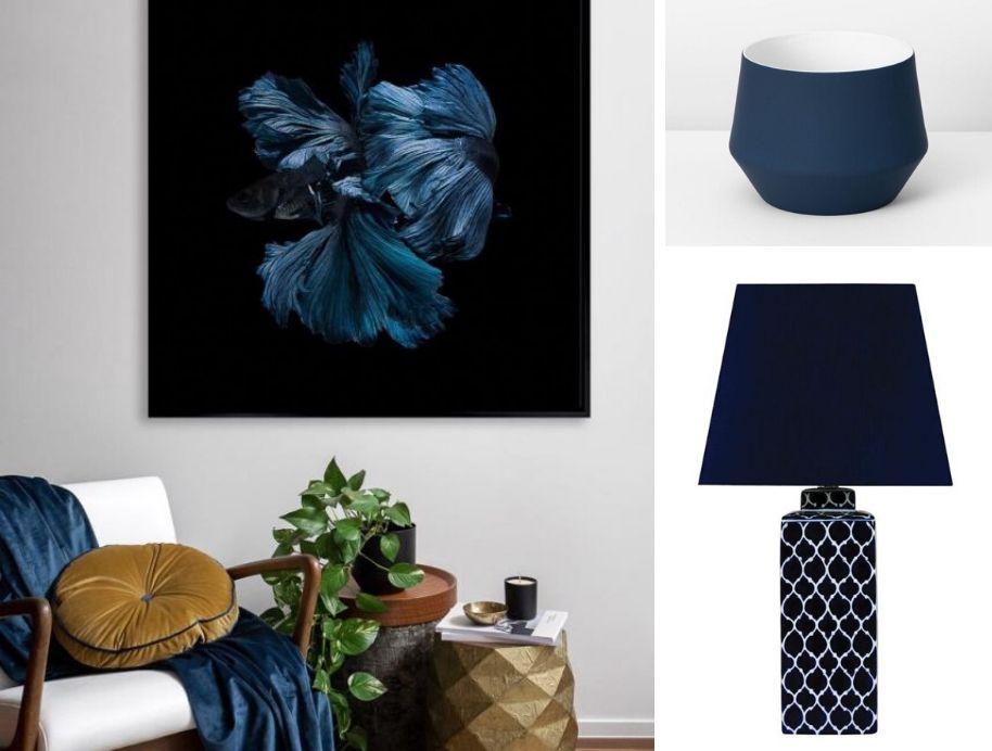 Pantone Classic Blue home decor