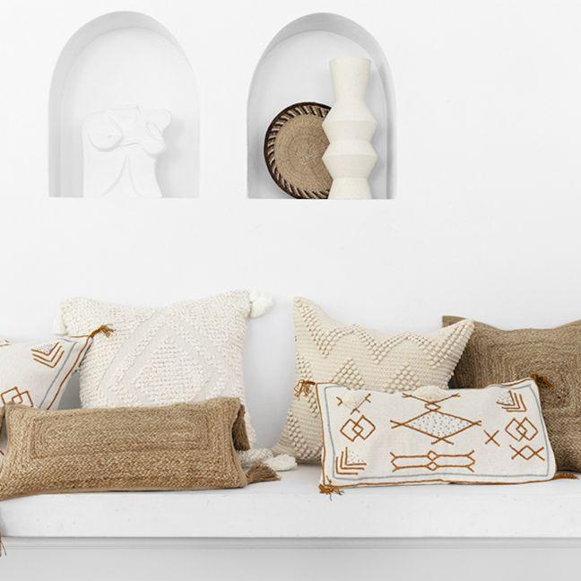 Sea Tribe cushions