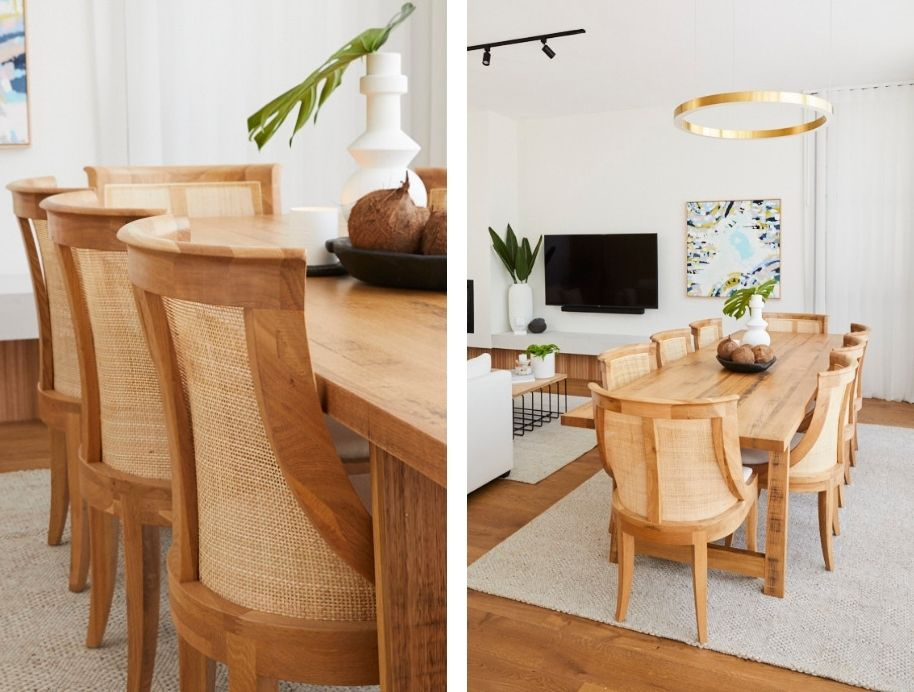 Which dining chair to choose? Luke and Jasmin The Block