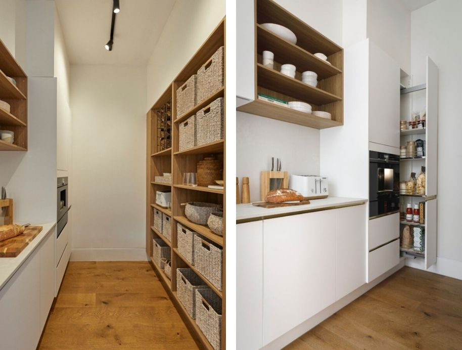 Pull out kitchen pantry - The Block