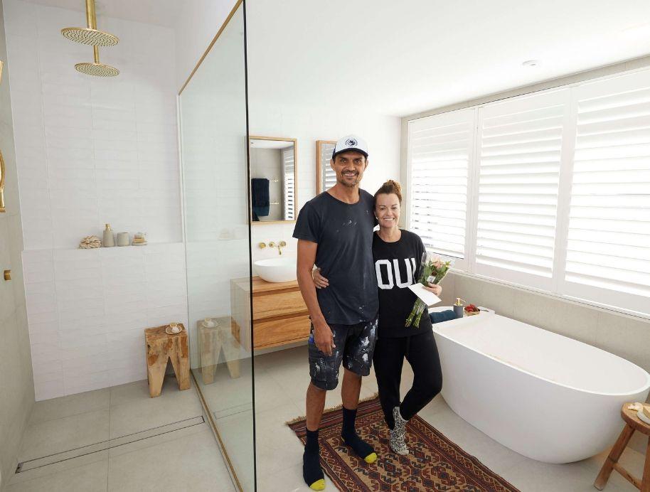 Deb and Andy wk 6 Bathroom