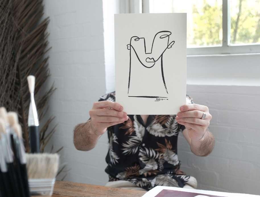 Angus Martin - Block artist