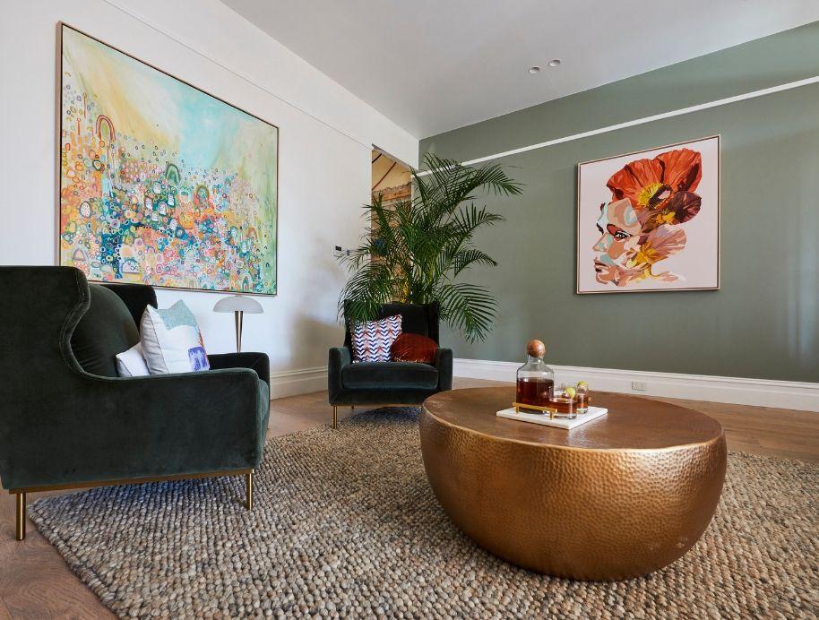 Deb and Andy Formal Living room - Adele Naidoo Art