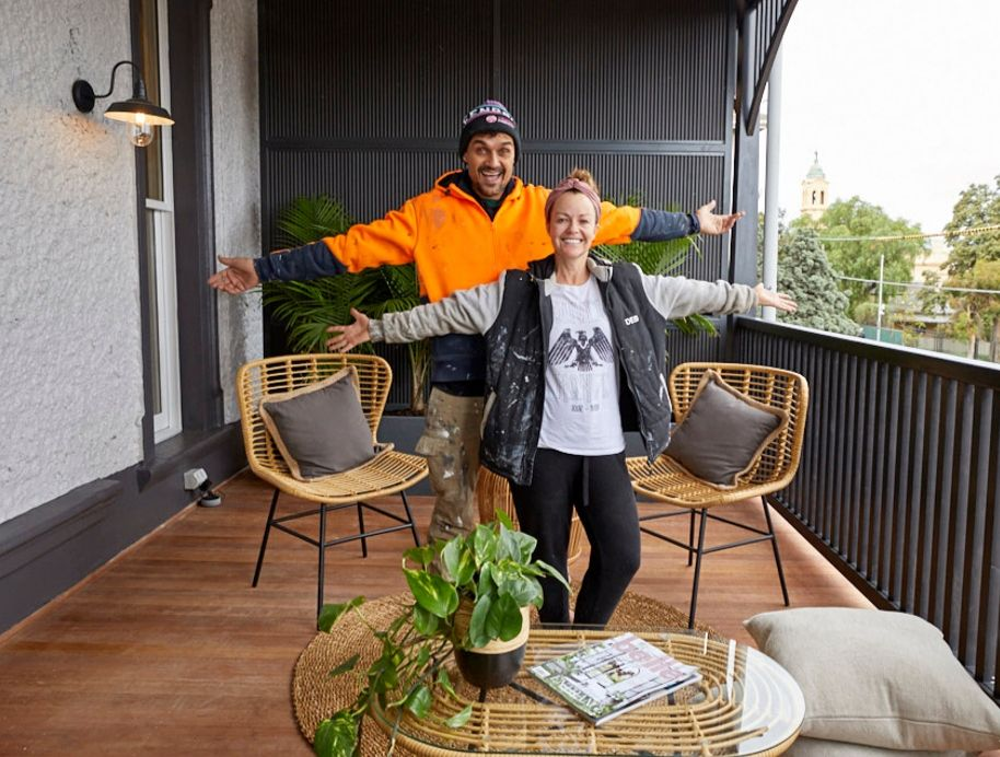 Deb and Andy Block Verandah Reveal