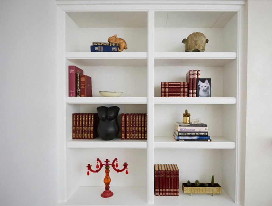 Elise shelf styling queen - The Block