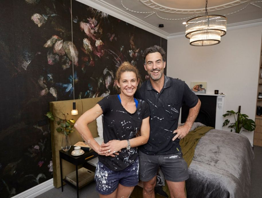 Elise and Matt Week 3 Master Bedroom The Block