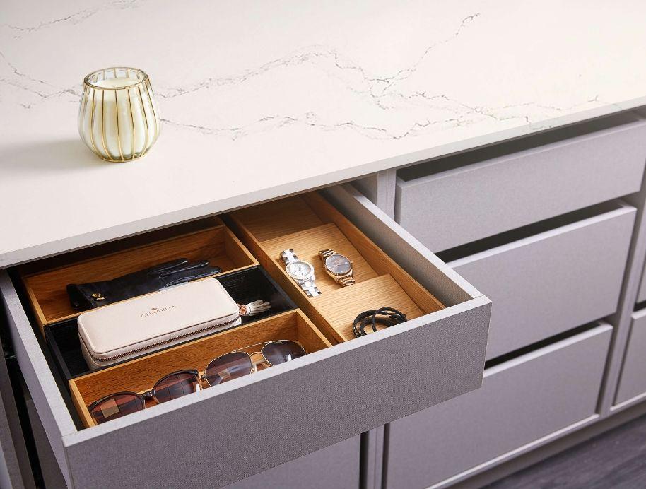 Jewellery drawers