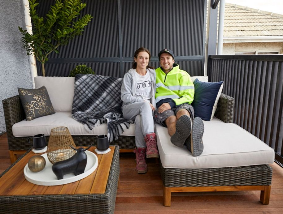 Jesse and Mel Verandah Block Reveal