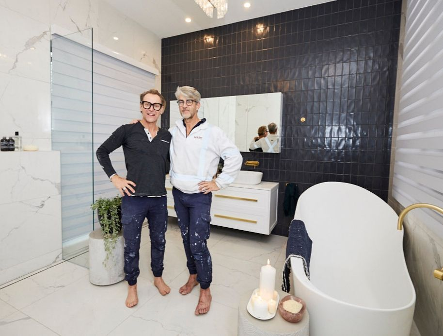 Mitch and Mark Master Ensuite and WIR
