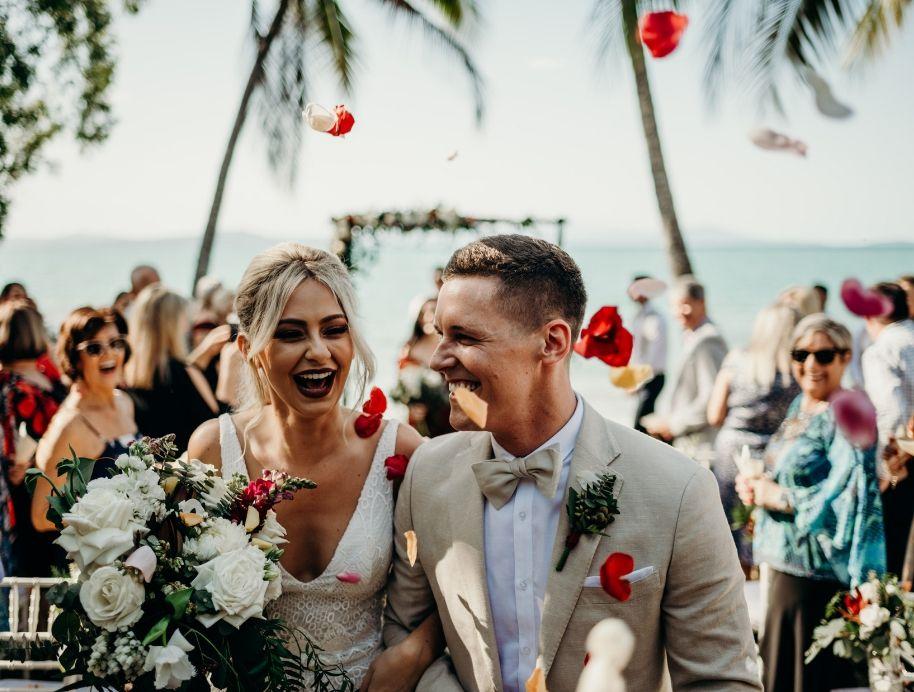 Tess and Luke wedding - The Block 2019