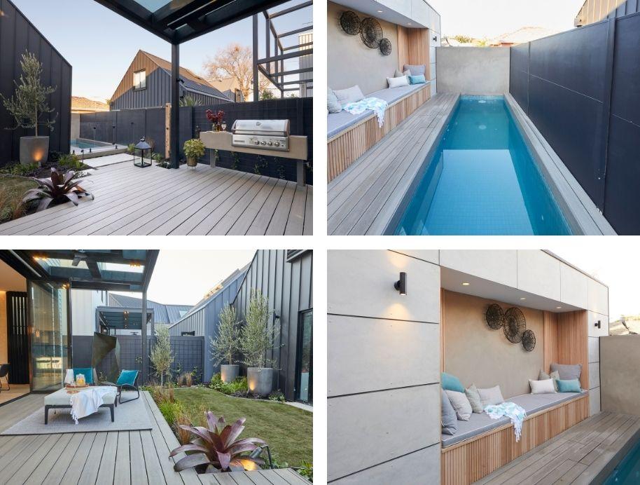 Daniel and Jade pool & backyard