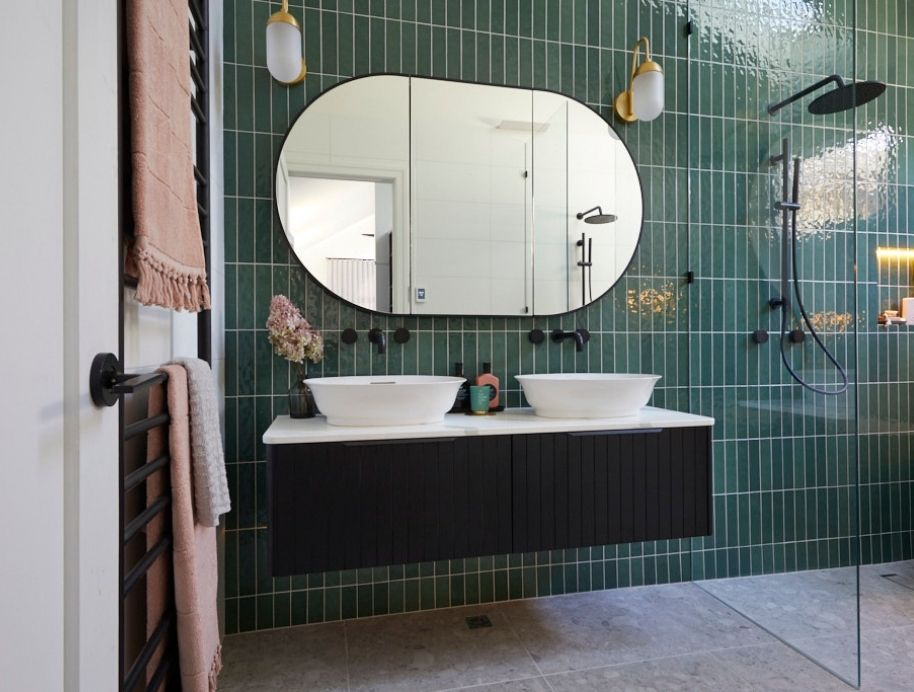 Harry and Tash Bathroom - The Block