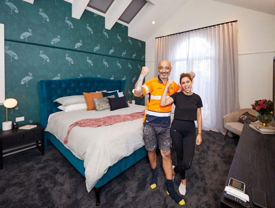 Harry and Tash Master Bedroom