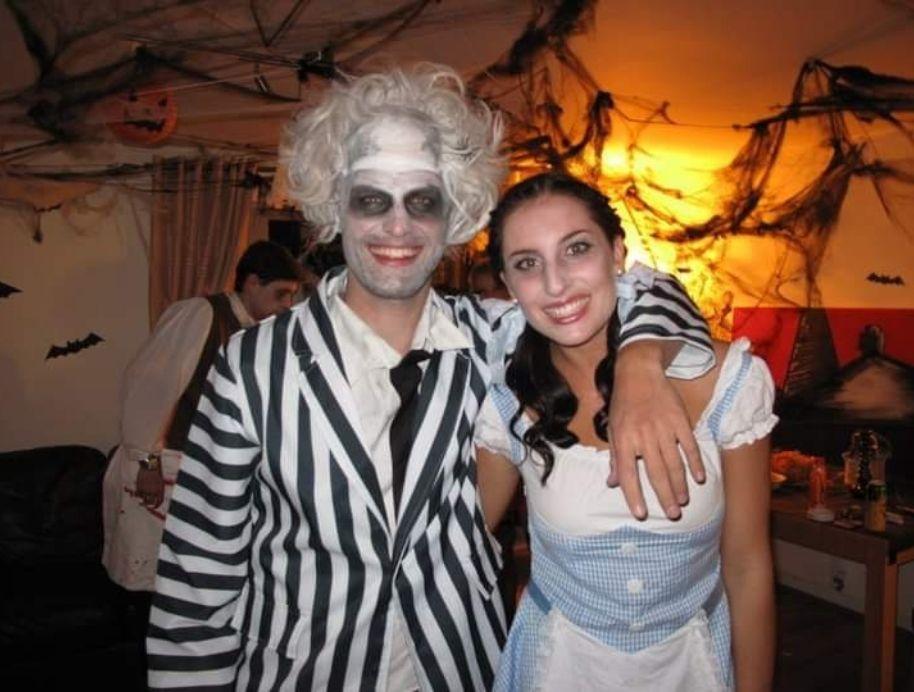 Luke and Jasmin Halloween dress up - The Block