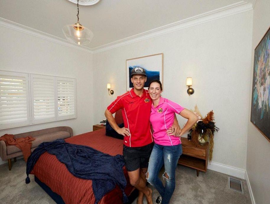 Luke and Jasmin Guest bedroom