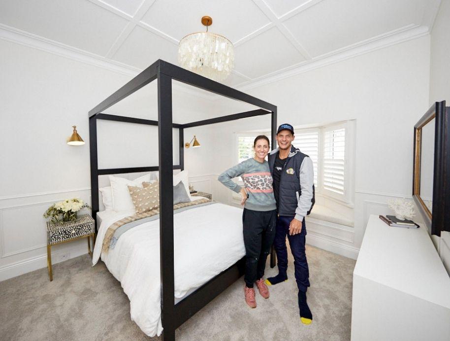 Luke and Jasmin Master Bedroom