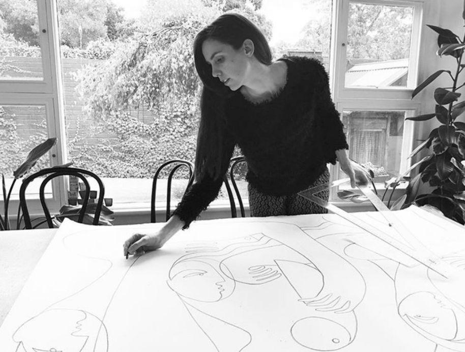 Octavia Tomyn - Block Shop Artist