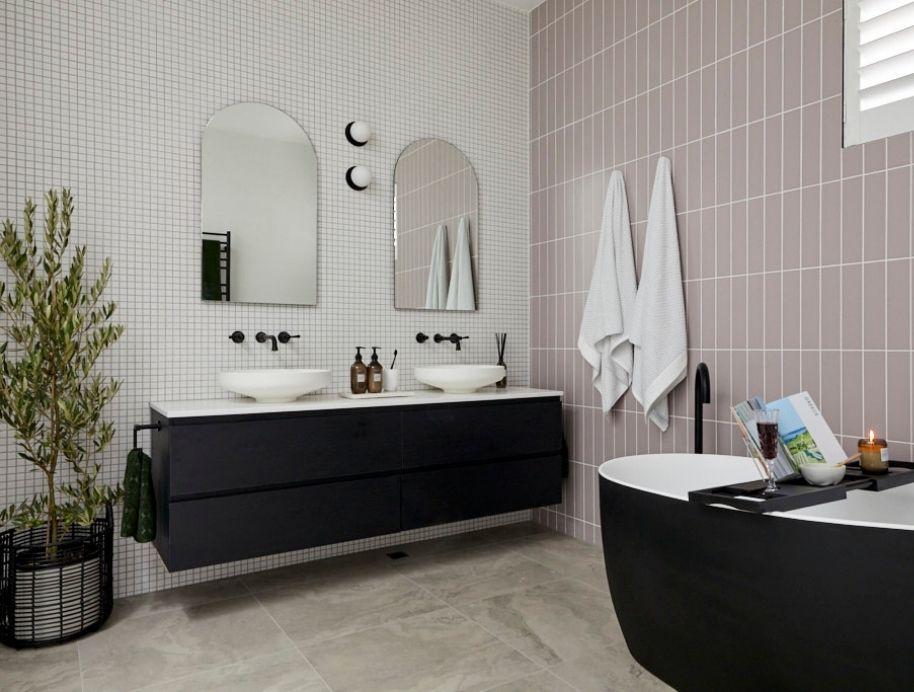 Sarah and George Block Bathroom 2020
