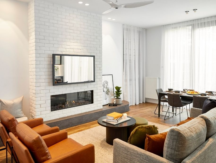 Fireplaces on The Block