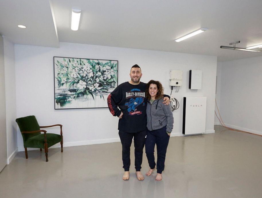 Sarah and George Block Studio