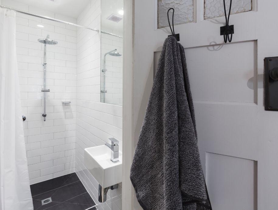 Shower curtain small bathroom trend