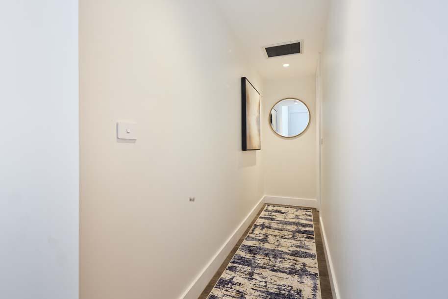 Josh and Luke Block hallway and laundry