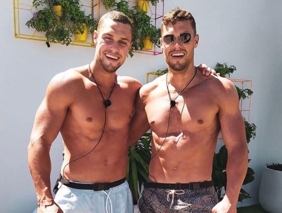 Josh and Luke on Love Island