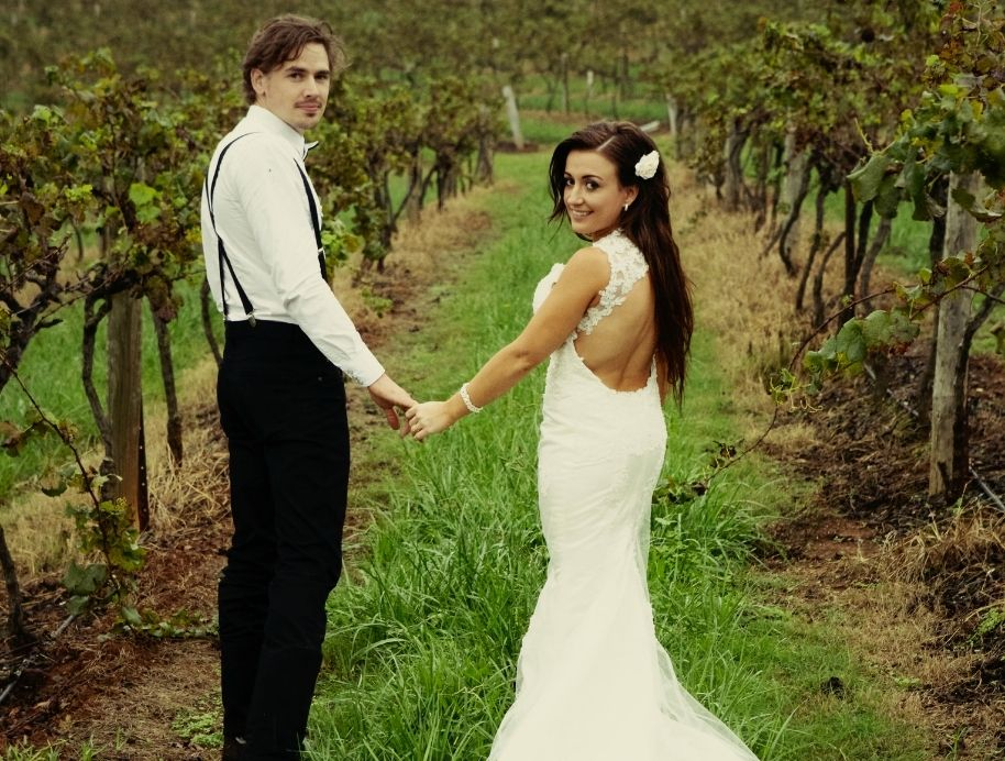 Kirsty and Jesse getting married - The Block