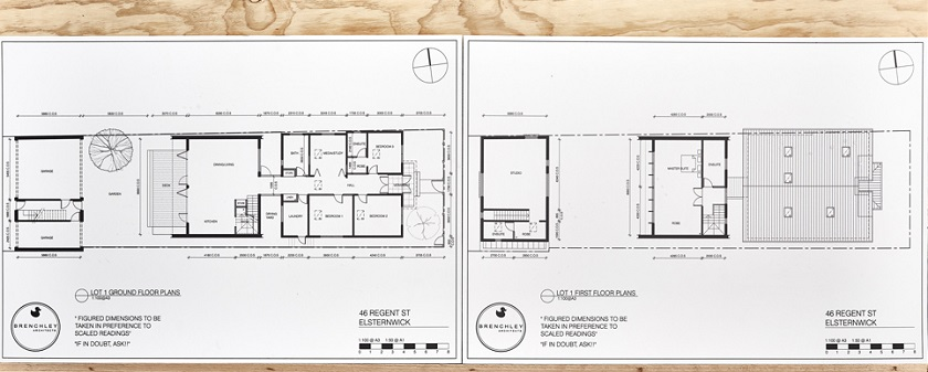 House Plans House 1 The Block 2017