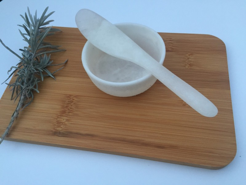 Rachel Bainbrindge free dip bowl and knife with purchase