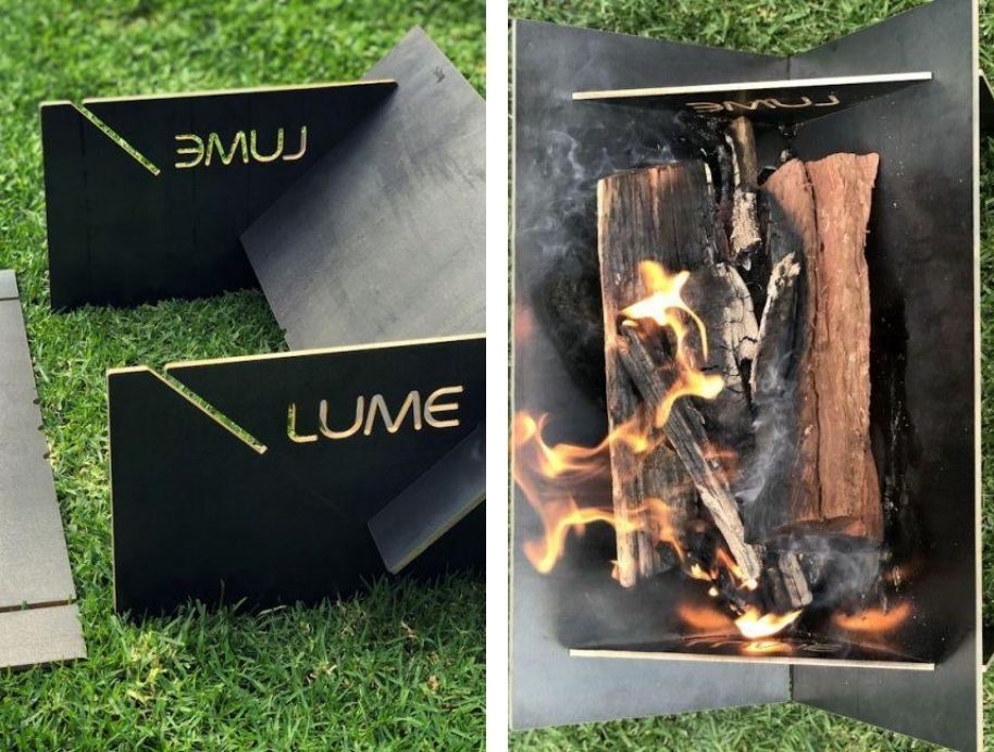 Lume fireplace from The Block Shop