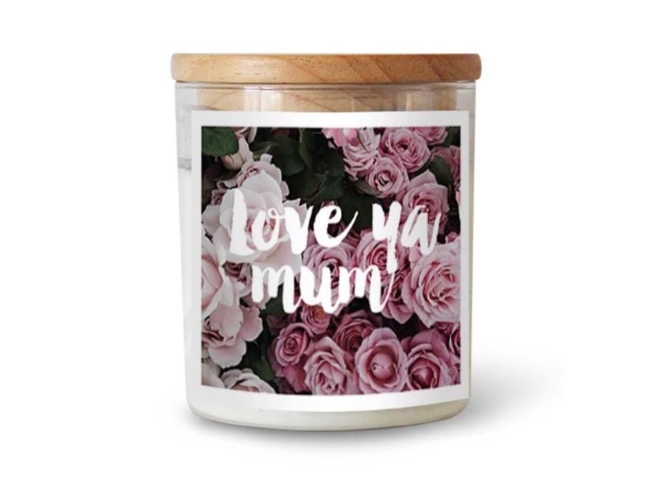 Love you Mum candle