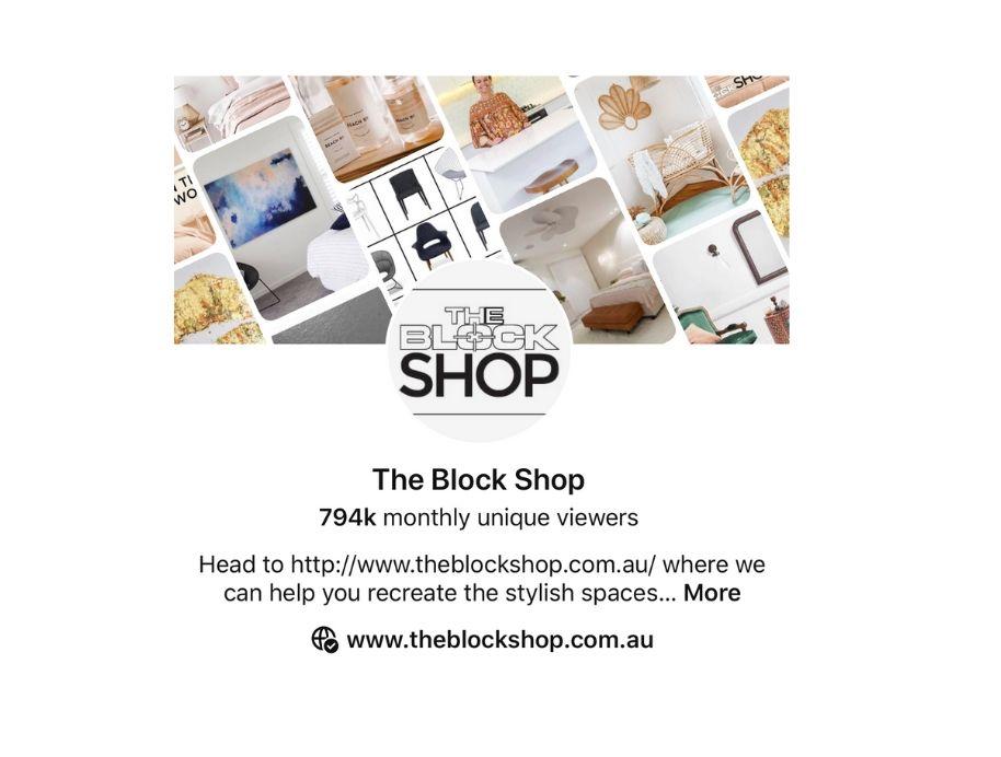 Block Shop Pinterest