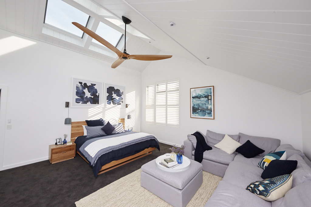 Sticks & Wombats custom made skylights & over sized fan -  are fantastic!