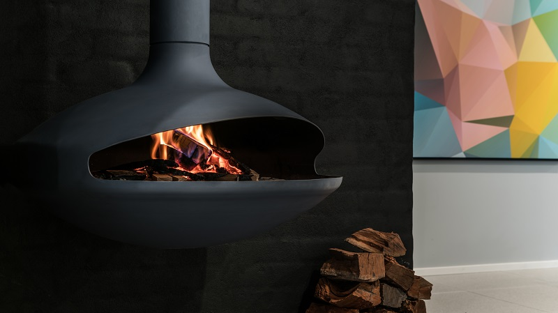 Aether Suspended Fireplace
