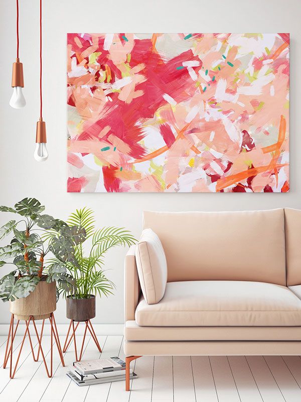 Coral Cove Canvas Print