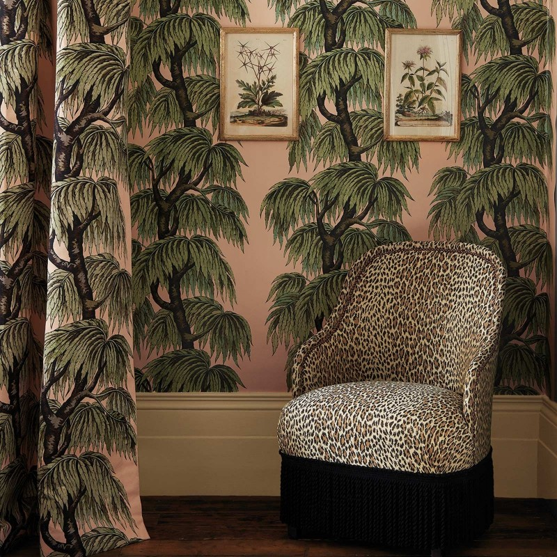 Babylon Art Deco Wallpaper