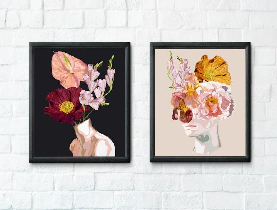 Adele Naidoo Art Print for The Block Shop
