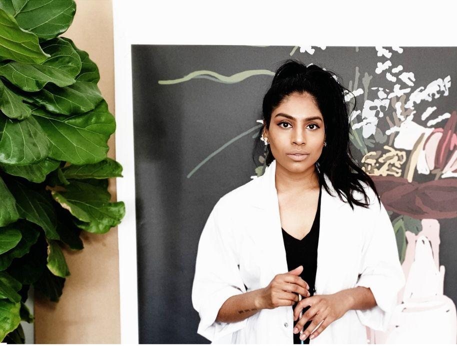 Adele Naidoo Artist for The Block Shop