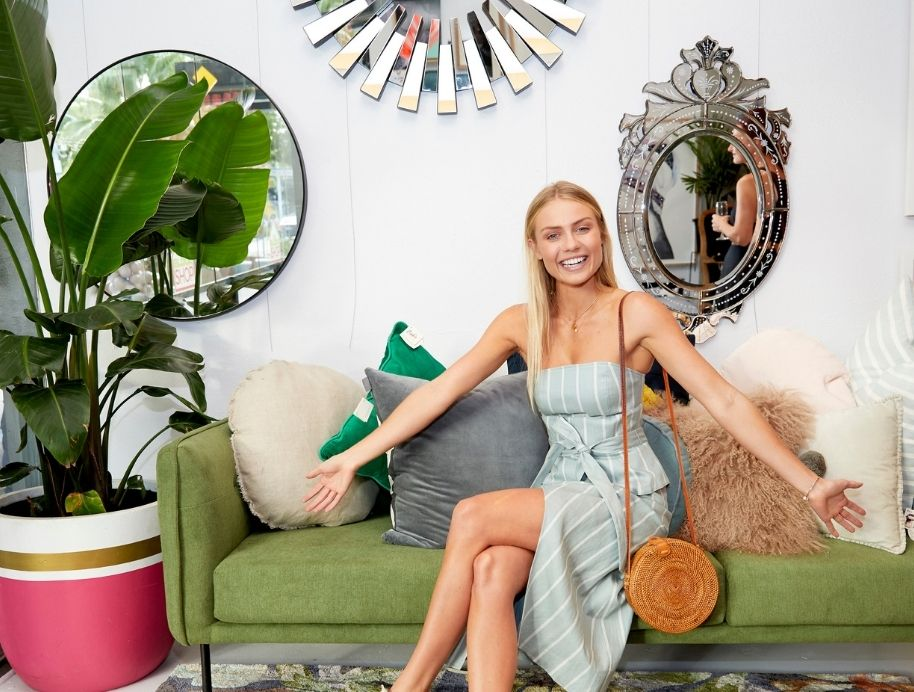 Elyse Knowles - Mirror trends at The Block