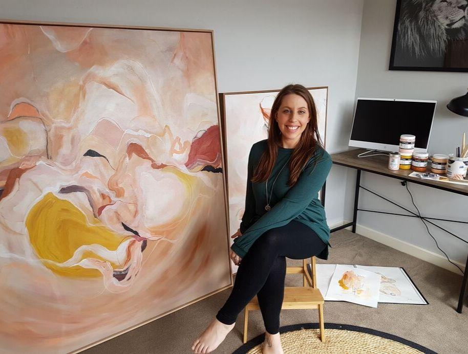 Block Artist Genna Kaye