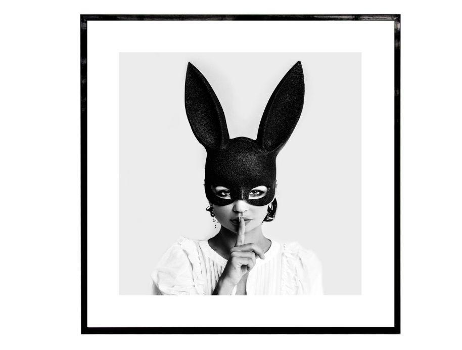 Quiet Bunny - Easter Art
