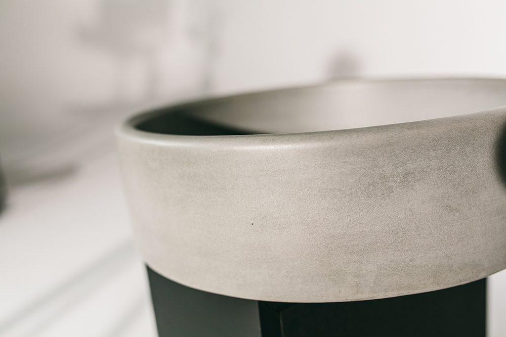 Nood Co Mid Tone Grey Bowl Sink