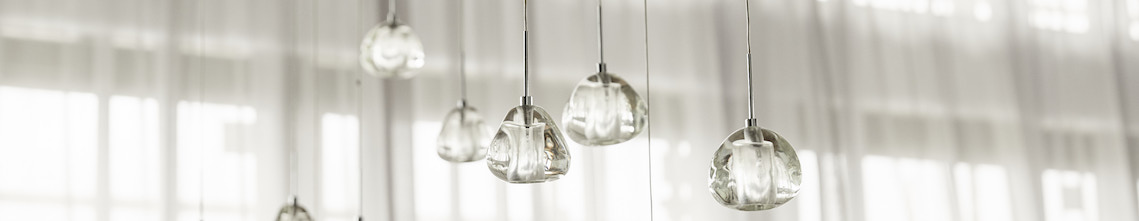 Chrome Contemporary Ceiling Lights