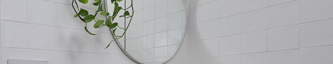 Black, Bright White, Scandinavian Vanity Mirrors Mirrors