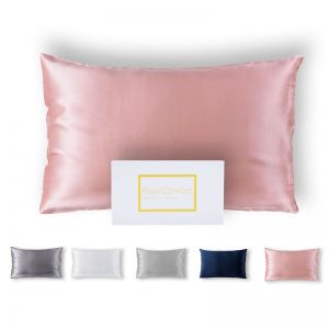 100% Dual-Sided Pure Silk Pillowcase by Royal Comfort | Various Colours