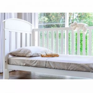 100% Organic Bamboo Bed Sheet Set   Cot   Various Colours  Signature Collection