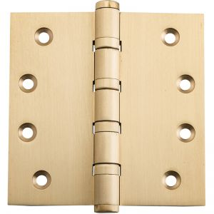 10x10cm Ball Bearing Hinge, Satin Brass | Schots